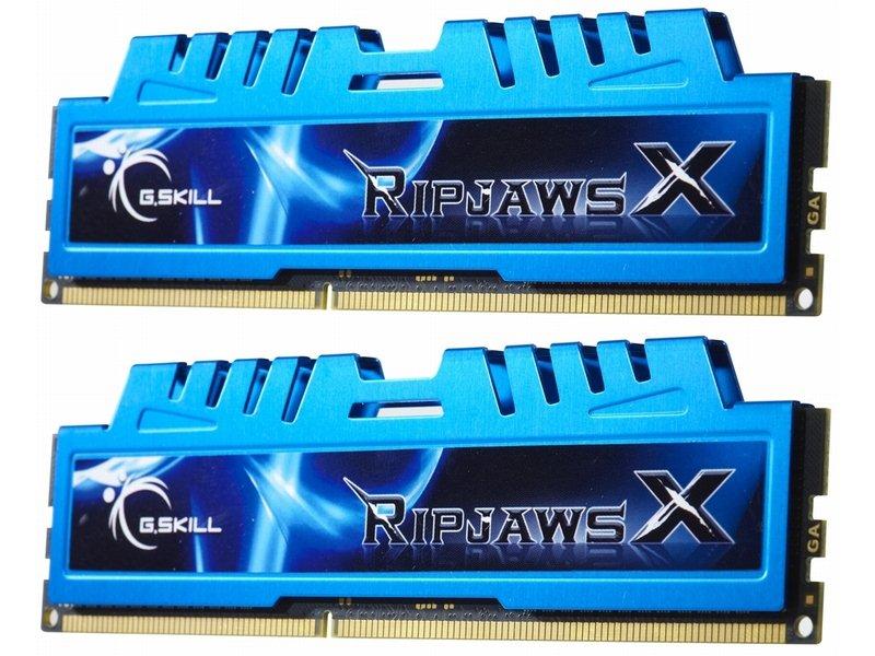 MMémoire GSKill RipJaws X Series 4Go Kit 2x 2Go PC12800 1600 MHz CL8, informatique ile de la Réunion 974