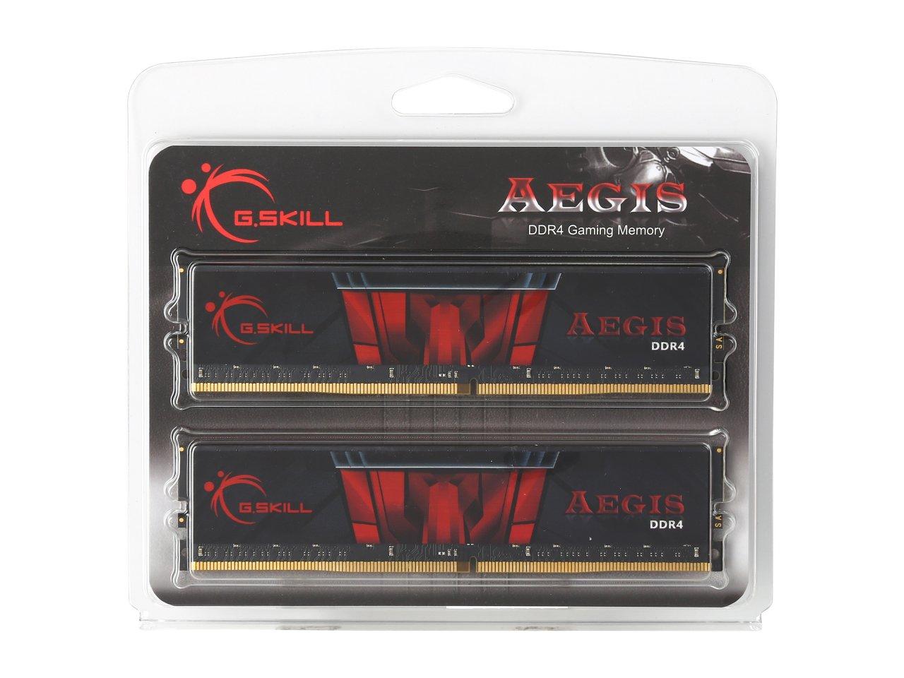 Mémoire G.Skill Aegis 32 Go (2 x 16 Go) DDR4 2400 MHz CL15, informatique ile de la Réunion 974