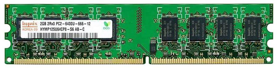 Mémoire Hynix Kit DDR2 2x 2Go PC6400 800 MHz CL6, informatique ile de la Réunion 974