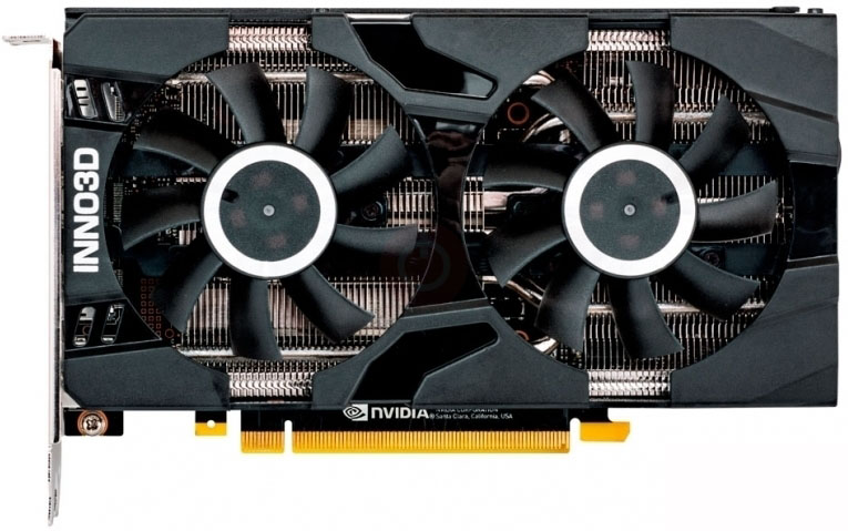 Carte graphique Inno3D RTX 2060 6Go DDR6 Twin X2 PCIe 3.0, informatique reunion, informatique ile de la Réunion 974