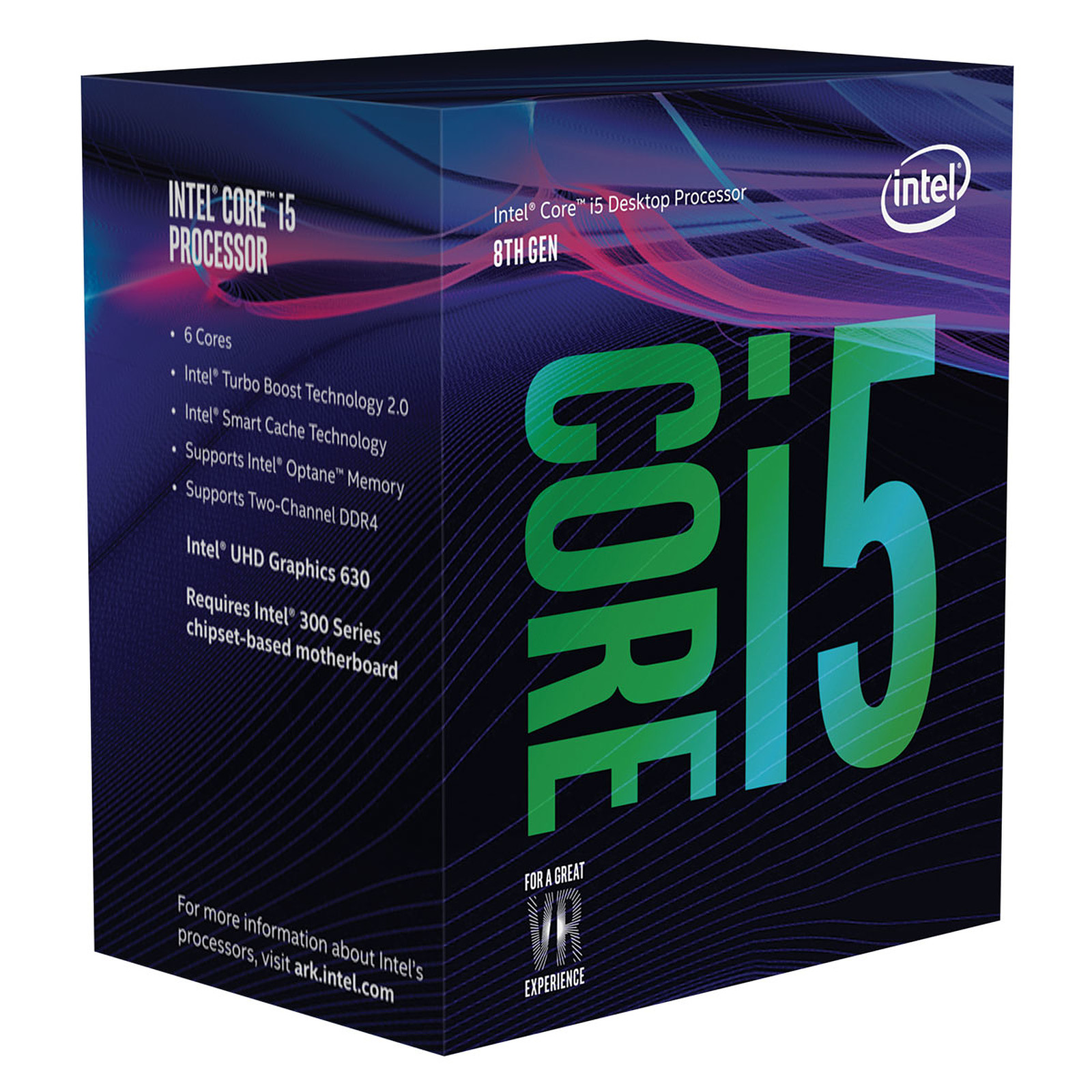 Processeur Intel Core i5 8400 Hexa Core (2.80 GHz) Socket 1151 - Cache 9 Mo (Box), informatique ile de la réunion