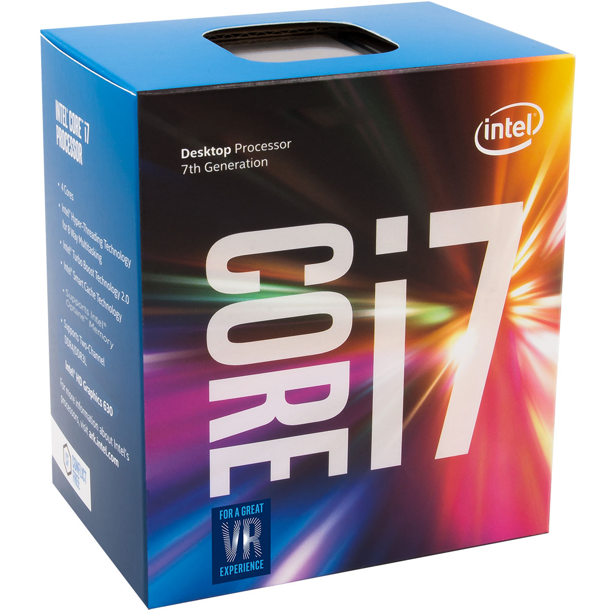 Processeur Intel Core i7 7700 Quad Core (3.60 GHz) Socket 1151 - Cache 8 Mo (Box), informatique ile de la réunion