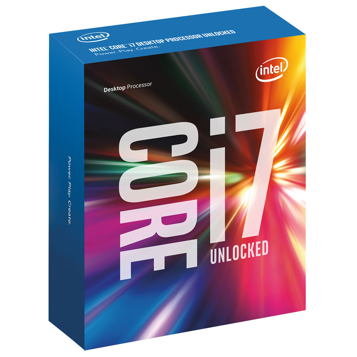 Processeur Intel Core i7 7700k Quad Core (4.20 GHz) Socket 1151 - Cache 8 Mo (Box), informatique ile de la réunion