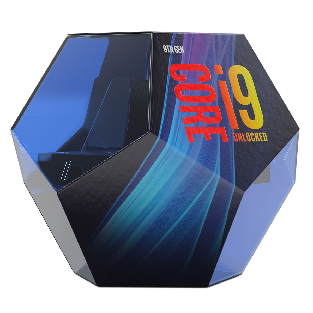 Processeur Intel Core i9 9900K 8- Core (3.60~5.00 GHz) Socket 1151 - Cache 16 Mo (Box), informatique ile de la réunion