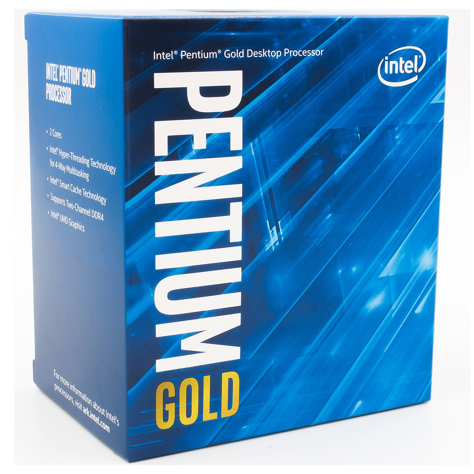 Processeur Intel Pentium Gold Dual Core G6400 (4.00 GHz) Socket 1200 - Cache 4 Mo (Box), informatique ile de la réunion