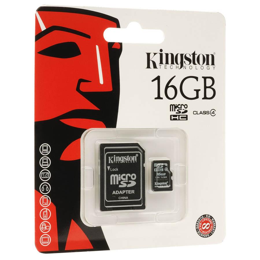 Carte mémoire Kingston micro SDHC 8 Go + adaptateur SD, informatique ile de la réunion