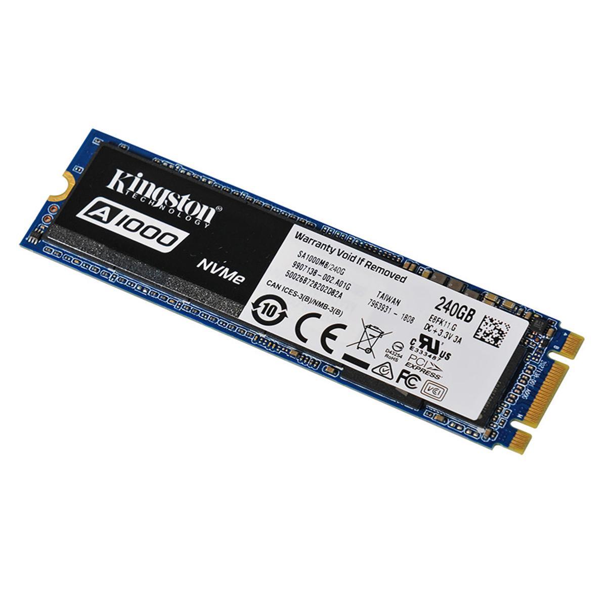 Disque dur SSD Kingston A1000 M.2 PCIe NVMe 240 Go , Futur Réunion informatique