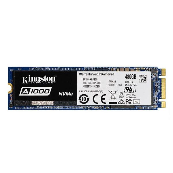 Disque dur SSD Kingston A1000 M.2 PCIe NVMe 480 Go , Futur Réunion informatique
