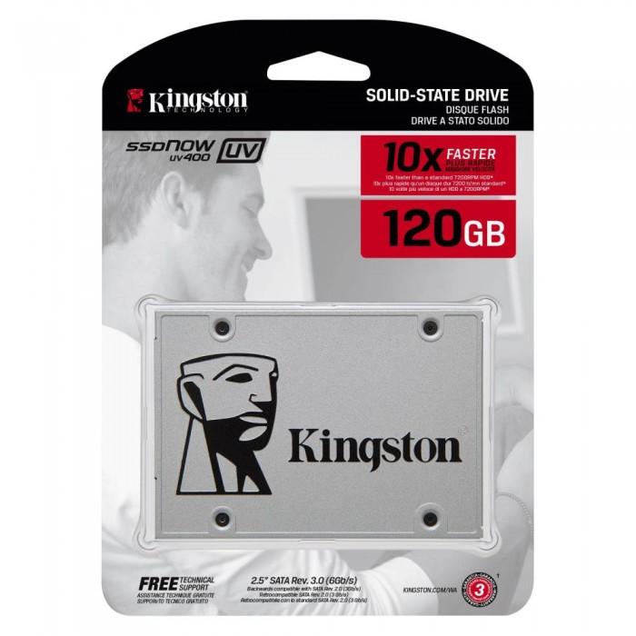 Disque dur SSD Kingston UV400 120 Go 2.5 pouces 7mm Serial ATA 3, Futur Réunion informatique