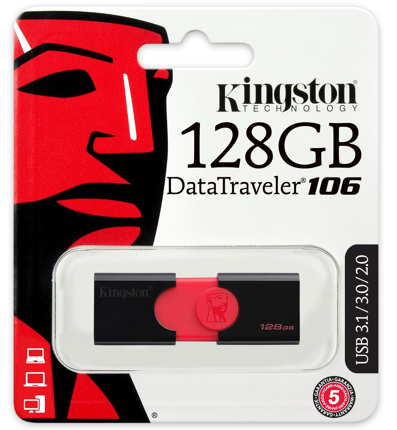 Clé USB 3.0 Kingston DataTraveler 106 128 Go , informatique ile de la réunion