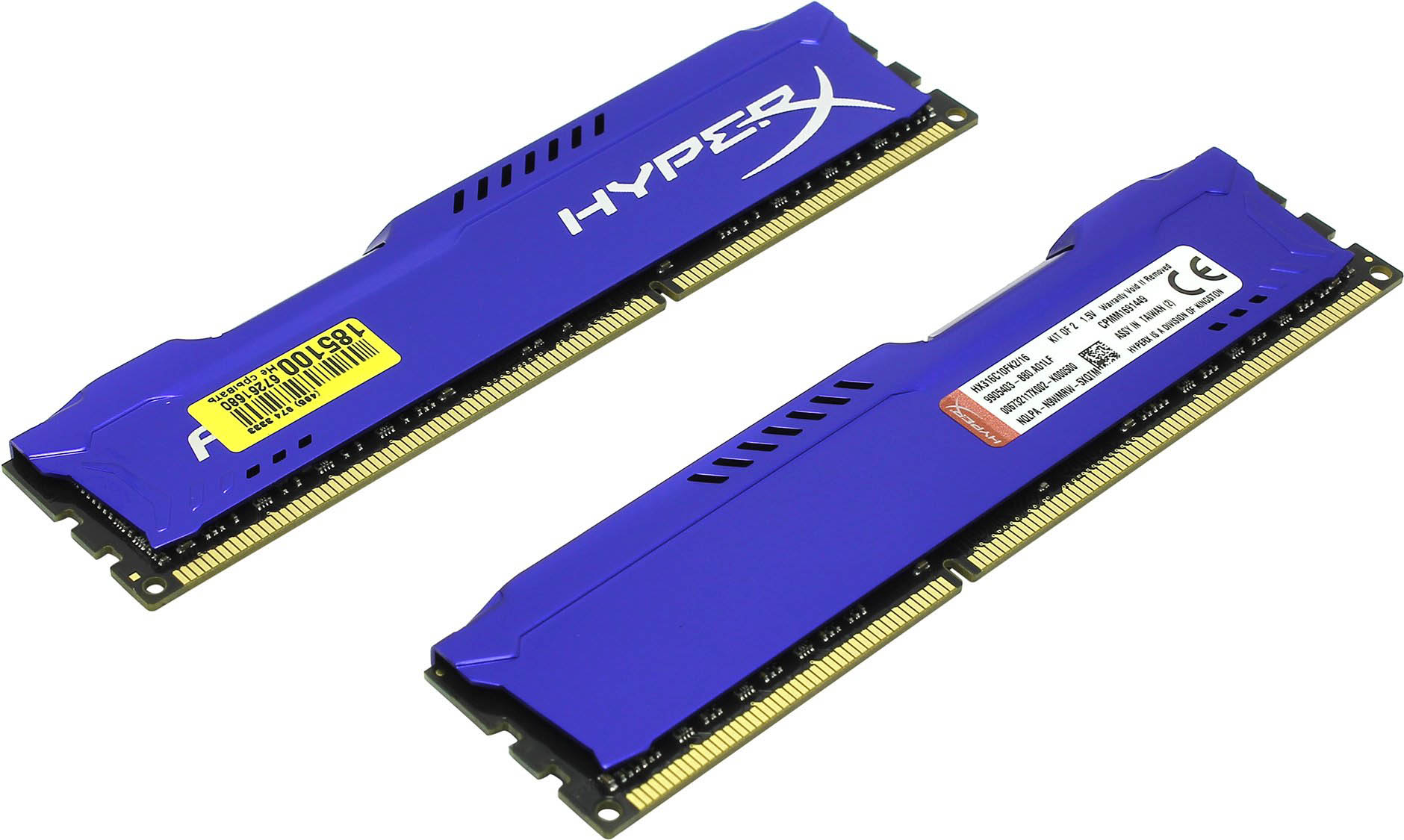 Mémoire Kingston 2x 4Go DDR3 PC12800 1600 MHz Fury HyperX CL10, informatique Reunion 974, Futur Réunion informatique