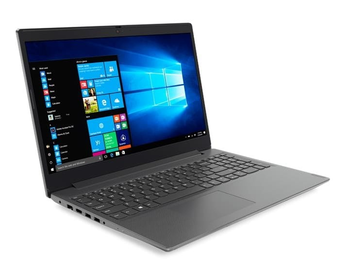Ordinateur Portable Lenovo V Series V155-15API AMD Ryzen 3 3200U, 256go SSD, 8 Go, AMD Radeon Vega 3, 15.6 pouces LED Full HD, W10 64bits, informatique Reunion 974, Futur Réunion informatique