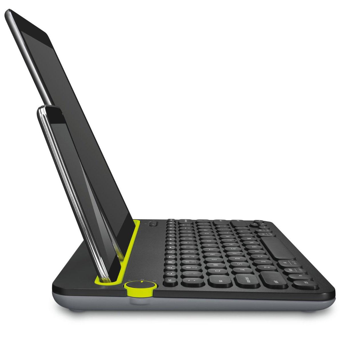 Clavier sans fil Logitech Wireless K400 Plus avec pavé tactile intégré (AZERTY Français), informatique ile de la réunion 974