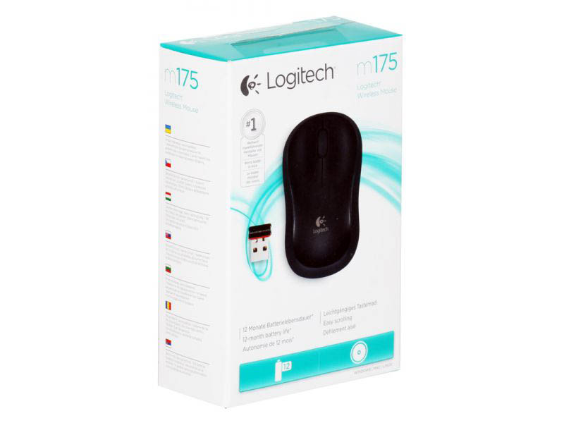 Souris sans fil Logitech wireless mouse optical M175, informatique ile de la réunion 974
