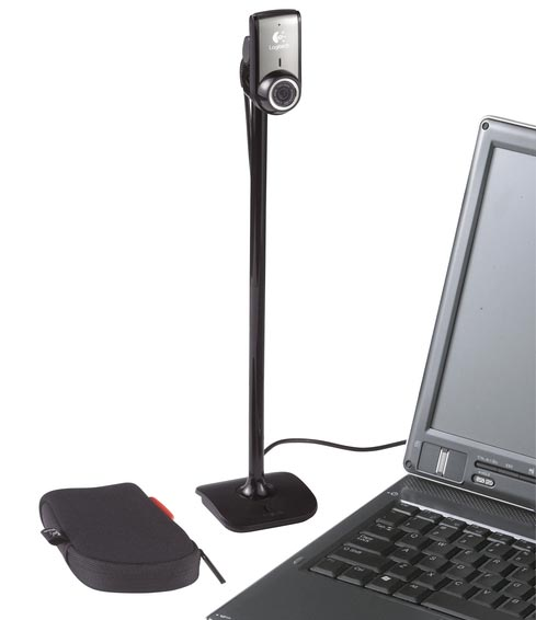 Webcam Logitech QuickCam Pro for Notebooks, informatique ile de la Réunion 974