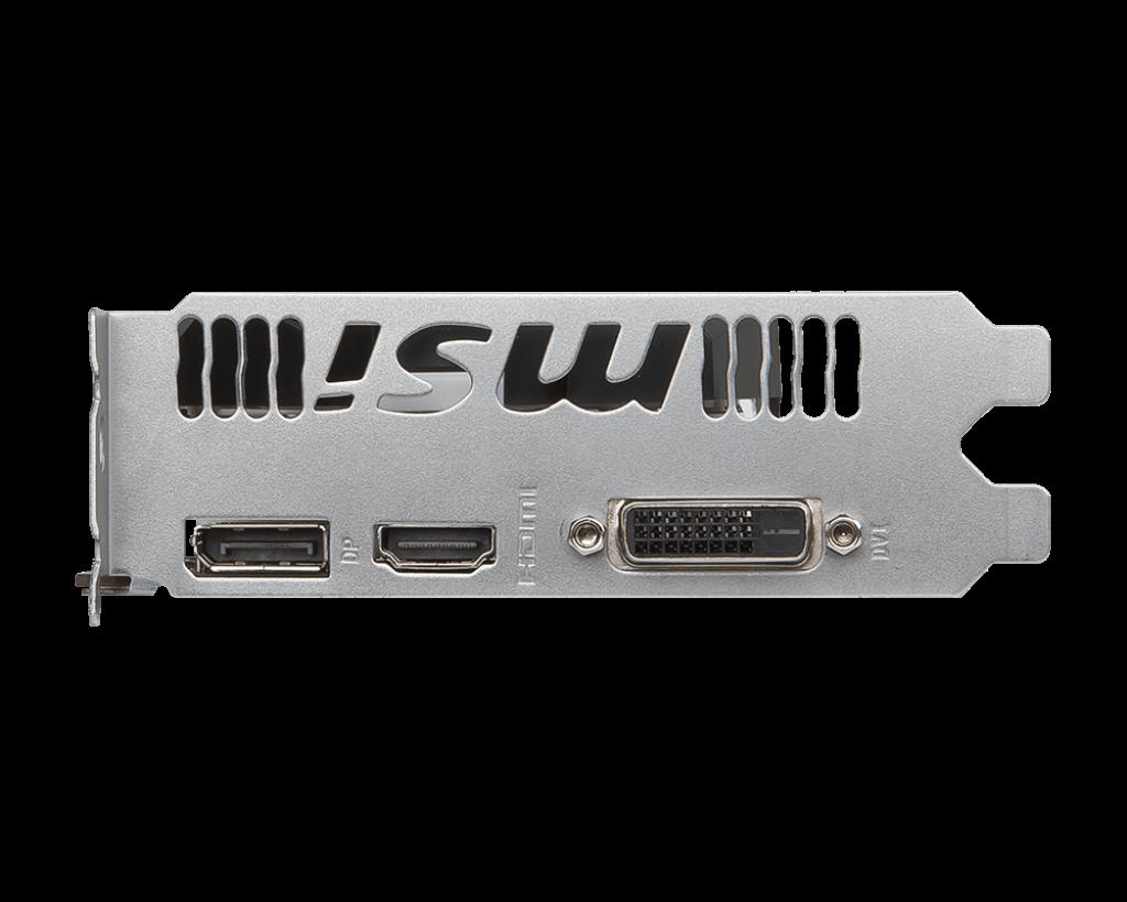 Carte graphique MSI GTX 1050 Ti 4Go OC DDR5 PCIe 3.0, informatique reunion, informatique ile de la Réunion 974