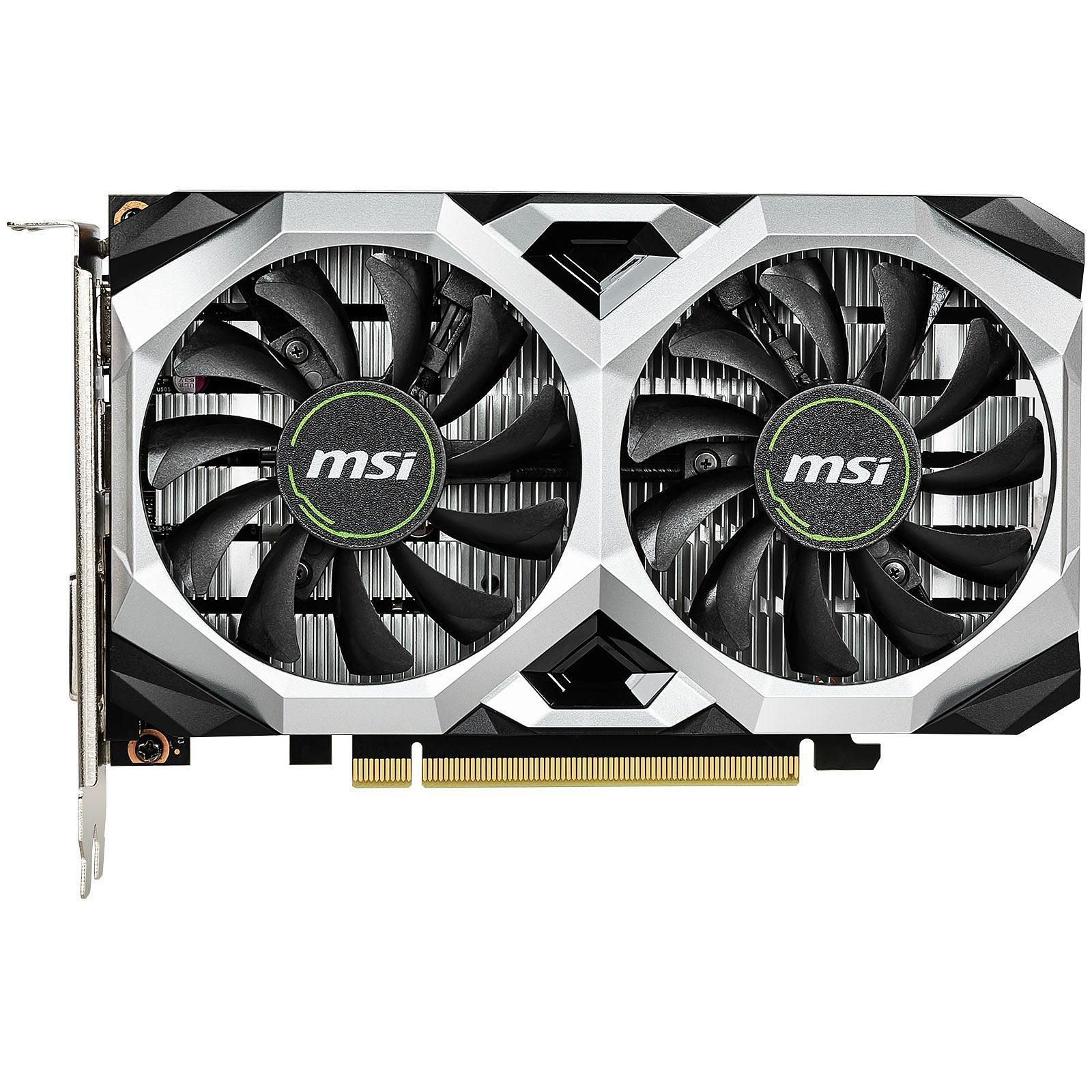 Carte graphique MSI GEFORCE GTX 1650 VENTUS XS 4G OC DDR5 PCIe 3.0  , informatique reunion, informatique ile de la Réunion 974