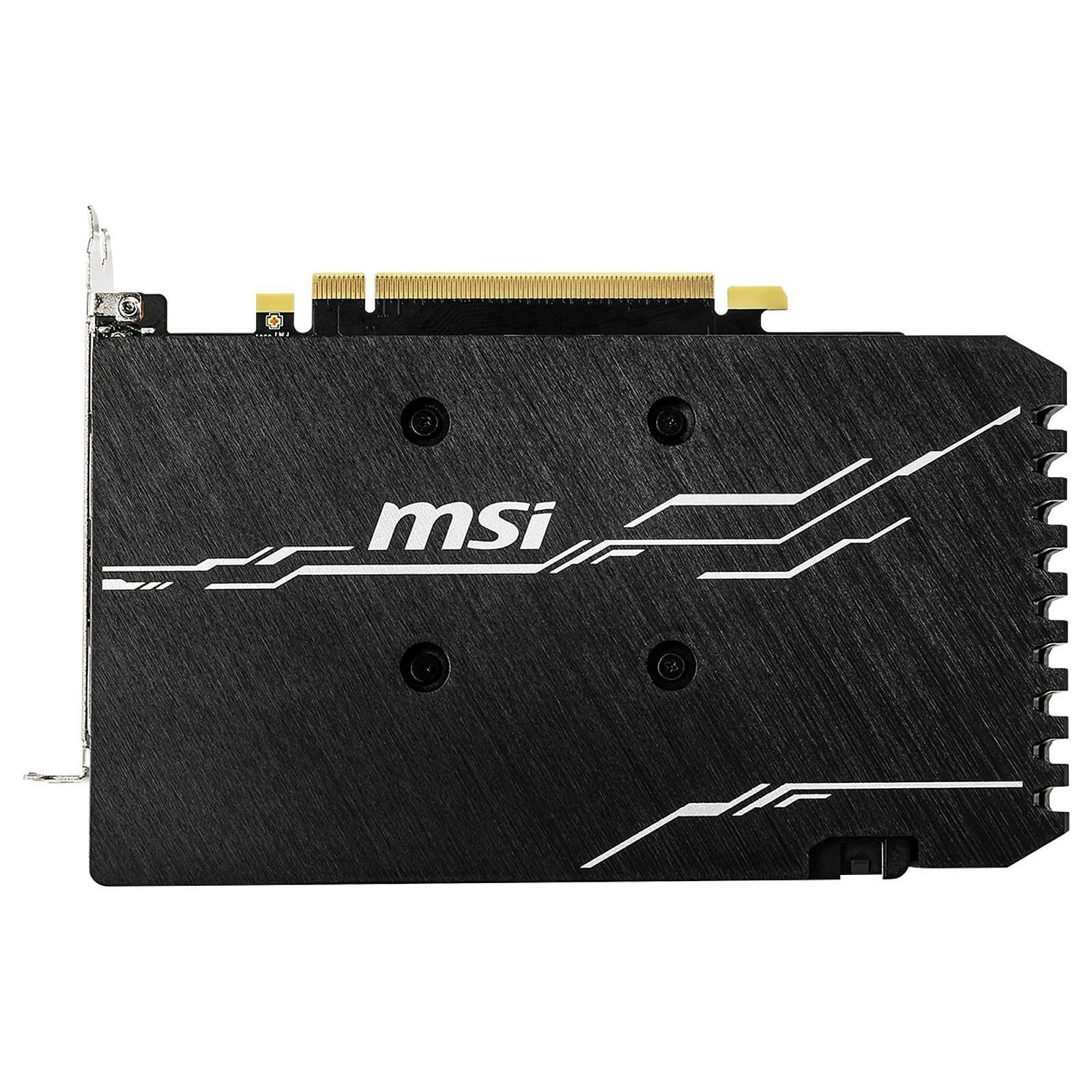 Carte graphique MSI GeForce GTX 1660 VENTUS XS 6G OC 6Go DDR5 PCIe 3.0, informatique reunion, informatique ile de la Réunion 974