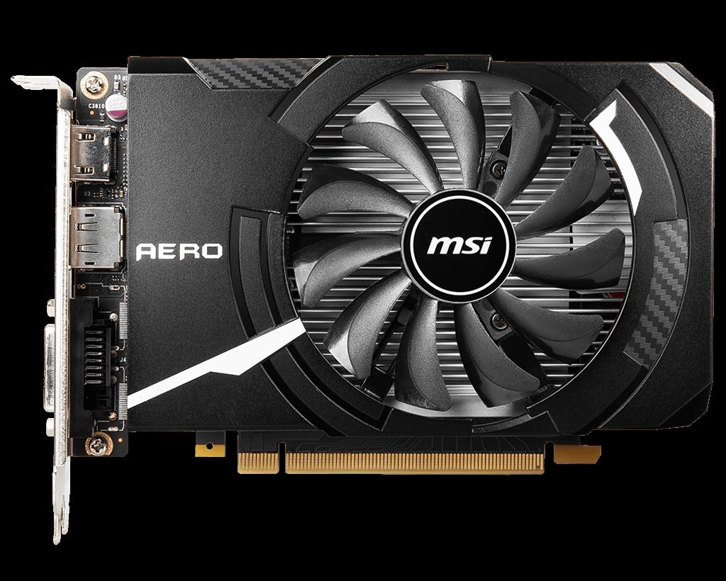 Carte graphique MSI GeForce GTX 1650 D6 AERO ITX OC 4 Go DDR6 PCIe 3.0 , informatique reunion, informatique ile de la Réunion 974