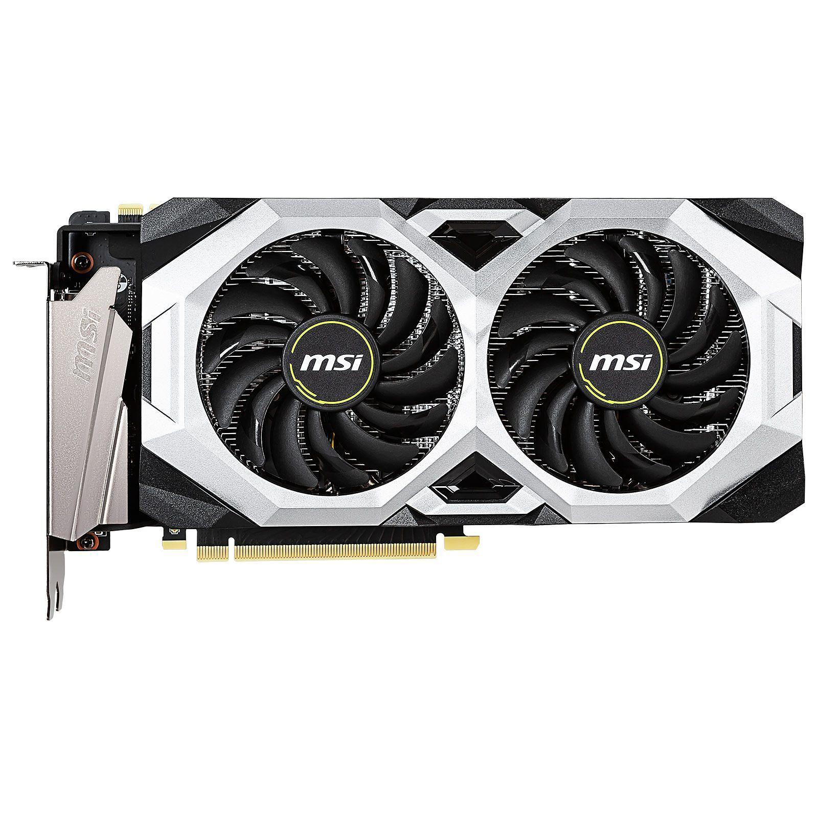 Carte graphique MSI RTX 2070 Super Ventus OC 8Go DDR6 PCIe 3.0, informatique reunion, informatique ile de la Réunion 974