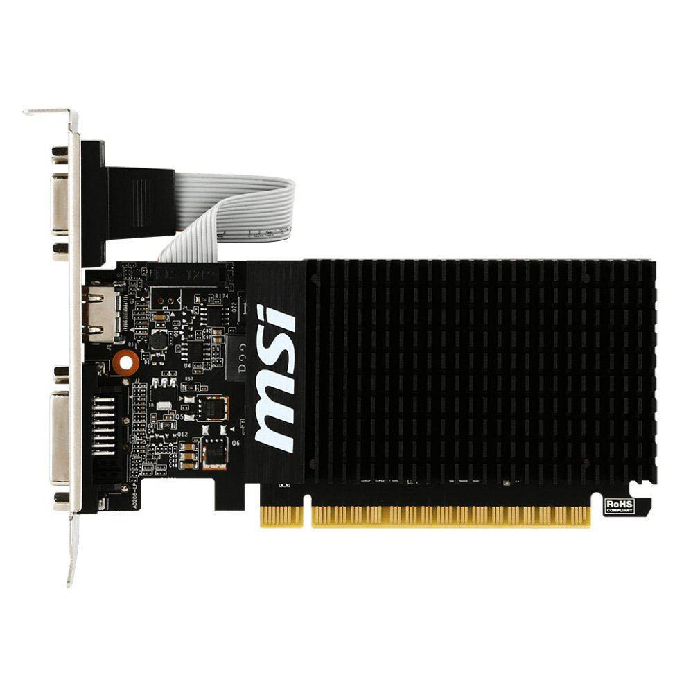 Carte graphique MSI GT710 1 Go DDR3 PCIe, informatique reunion, informatique ile de la Réunion 974