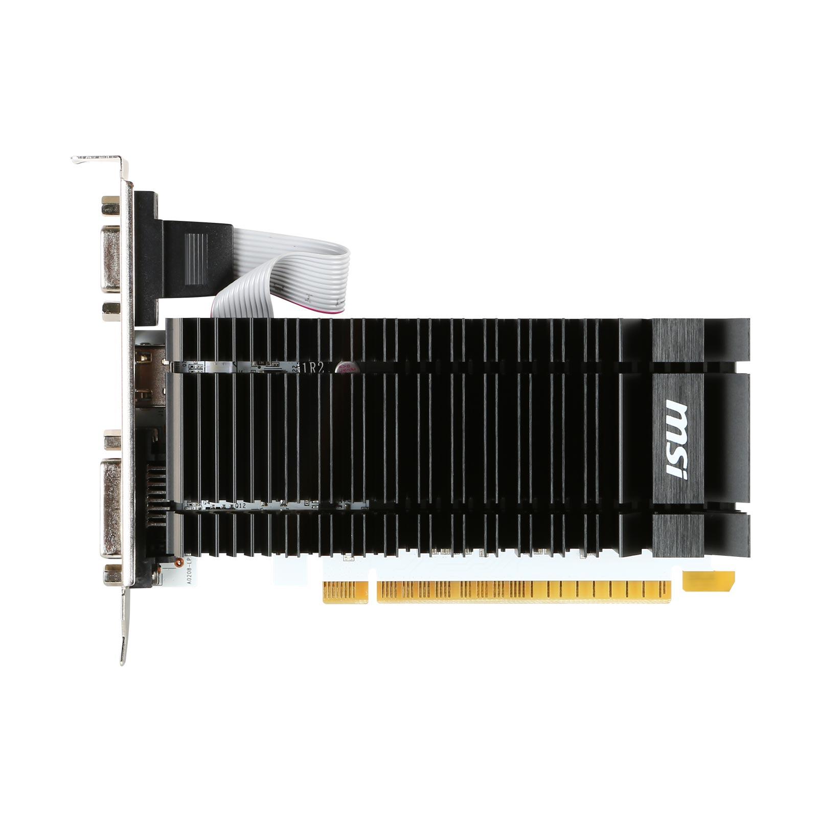 Carte graphique MSI GT730 2 Go DDR3 PCIe, informatique reunion, informatique ile de la Réunion 974