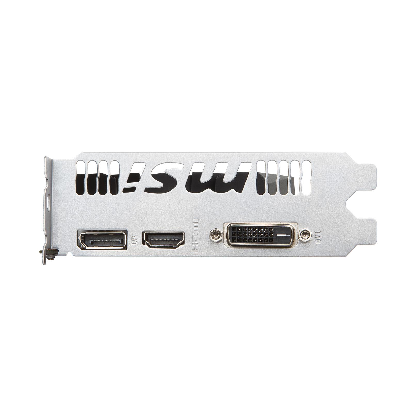 Carte graphique MSI GTX 1050 Ti 4G OC  PCIe 3.0, informatique reunion, informatique ile de la Réunion 974