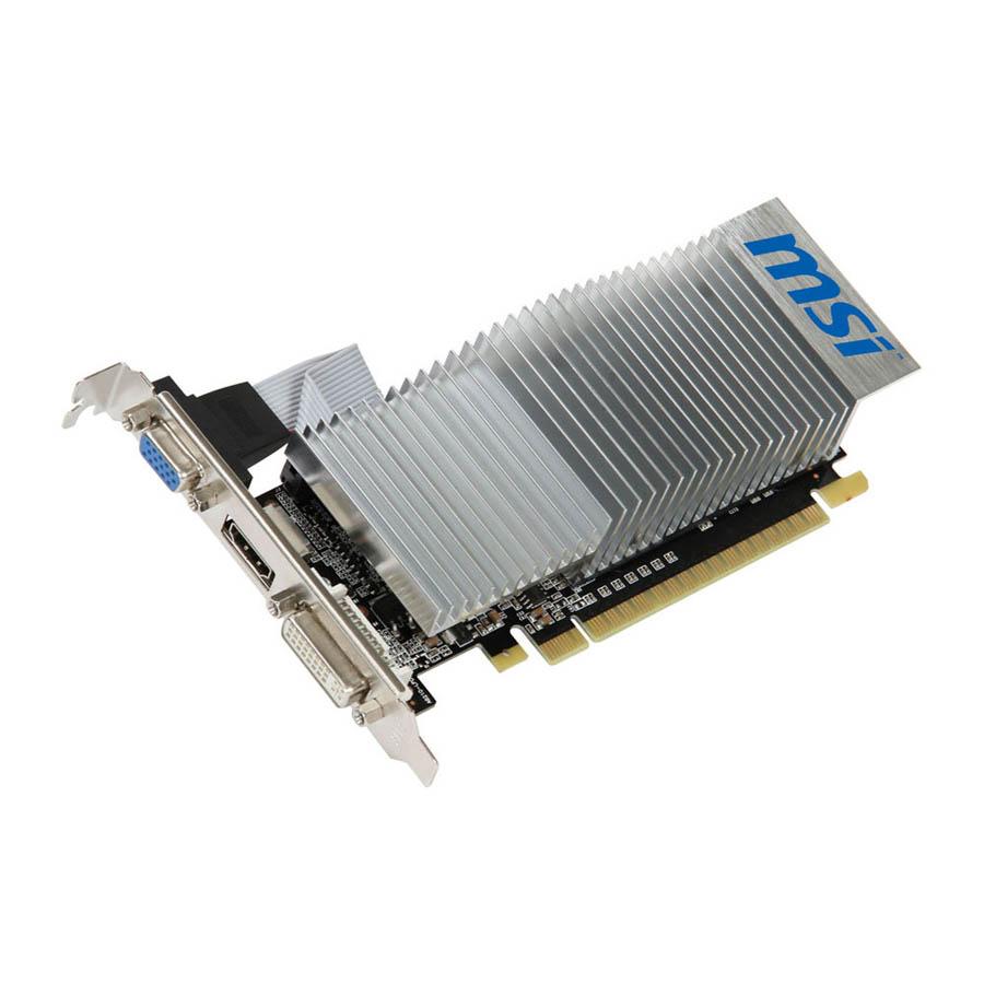 Carte graphique MSI GeForce N210 1024 Mo DDR35 PCIe 2.0, informatique ile de la Réunion 974