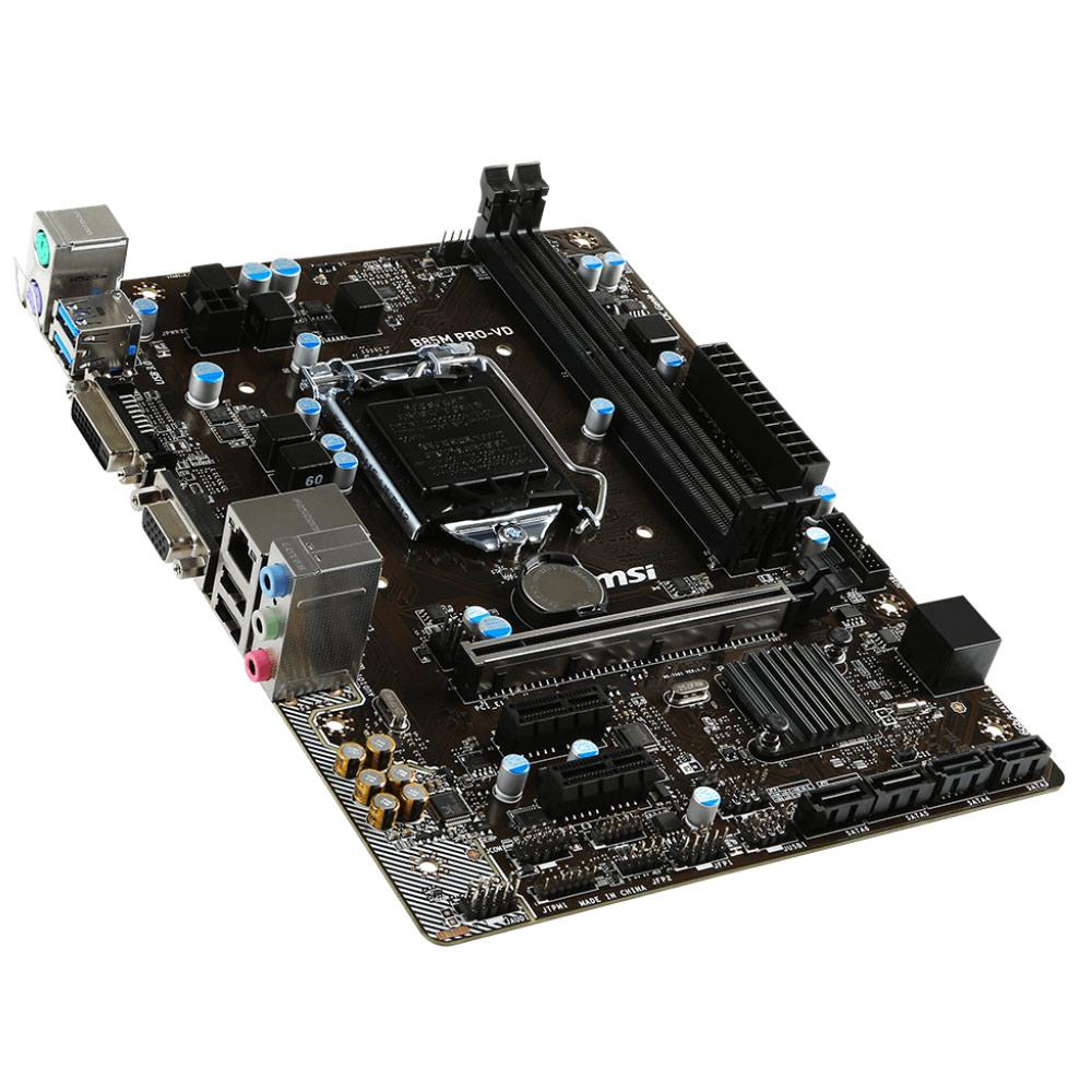 Carte mère MSI B85M PRO-VD Socket 1150 (Intel B85 Express) mATX, informatique ile de la Réunion 974
