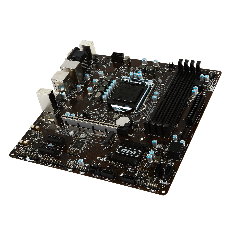 Carte mère MSI B250M PRO-VDH Socket 1151 (Intel B250 Express) mATX, informatique ile de la Réunion 974