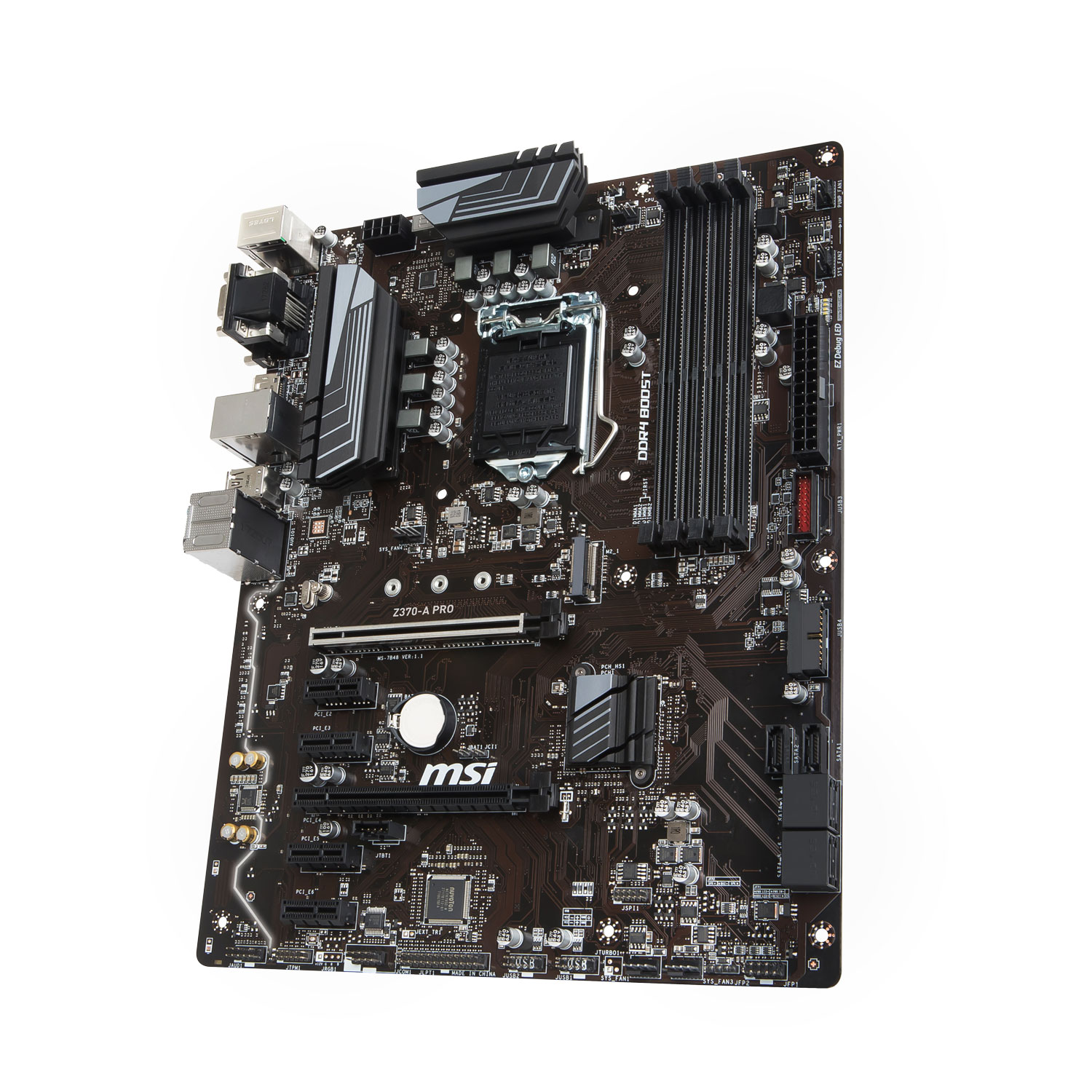Carte mère MSI Z370-A Pro Socket 1151 (Intel Z370 Express) ATX, informatique ile de la Réunion 974