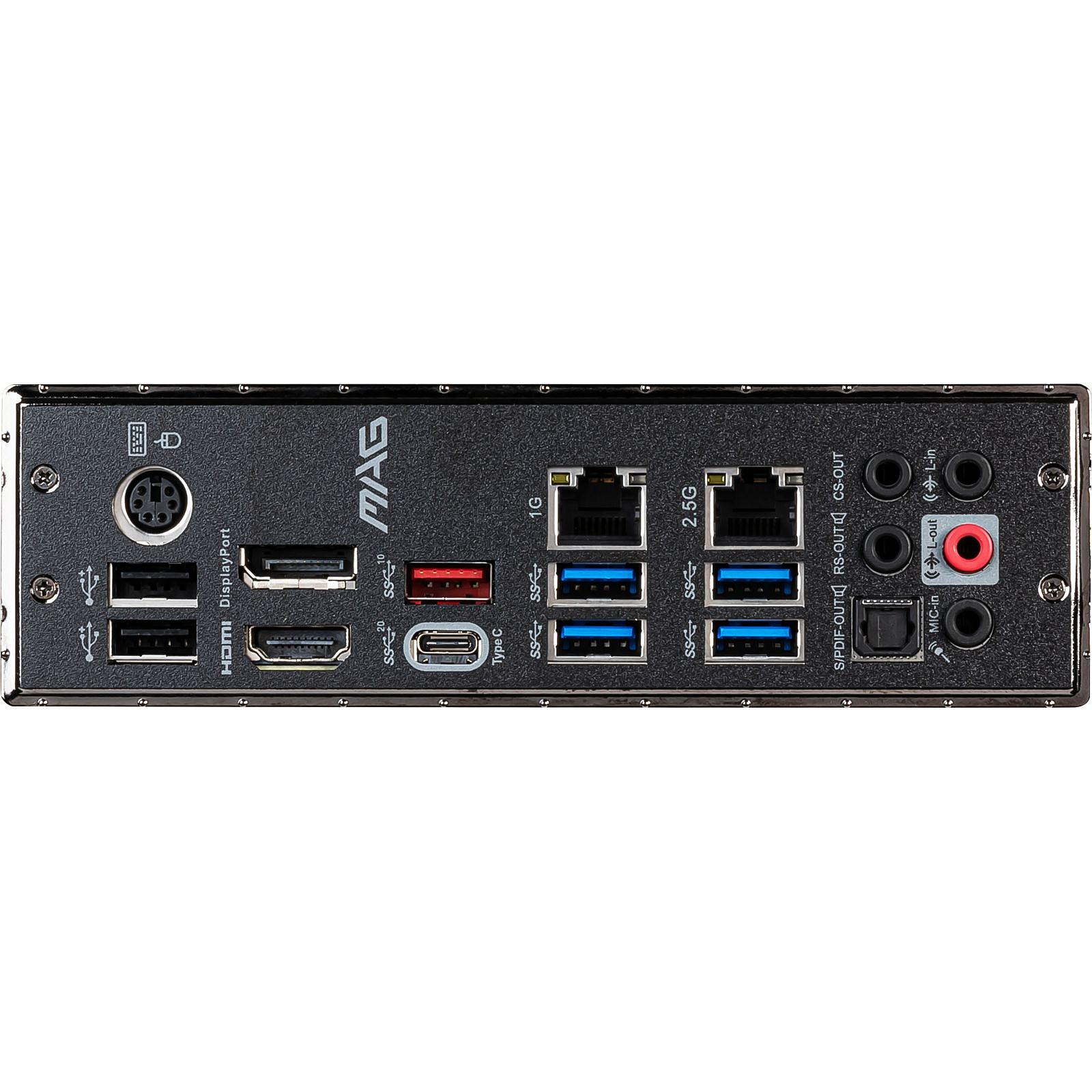 Carte mère MSI MAG Z490 TOMAHAWK Socket 1200(Intel Z490 Express) ATX, informatique ile de la Réunion 974