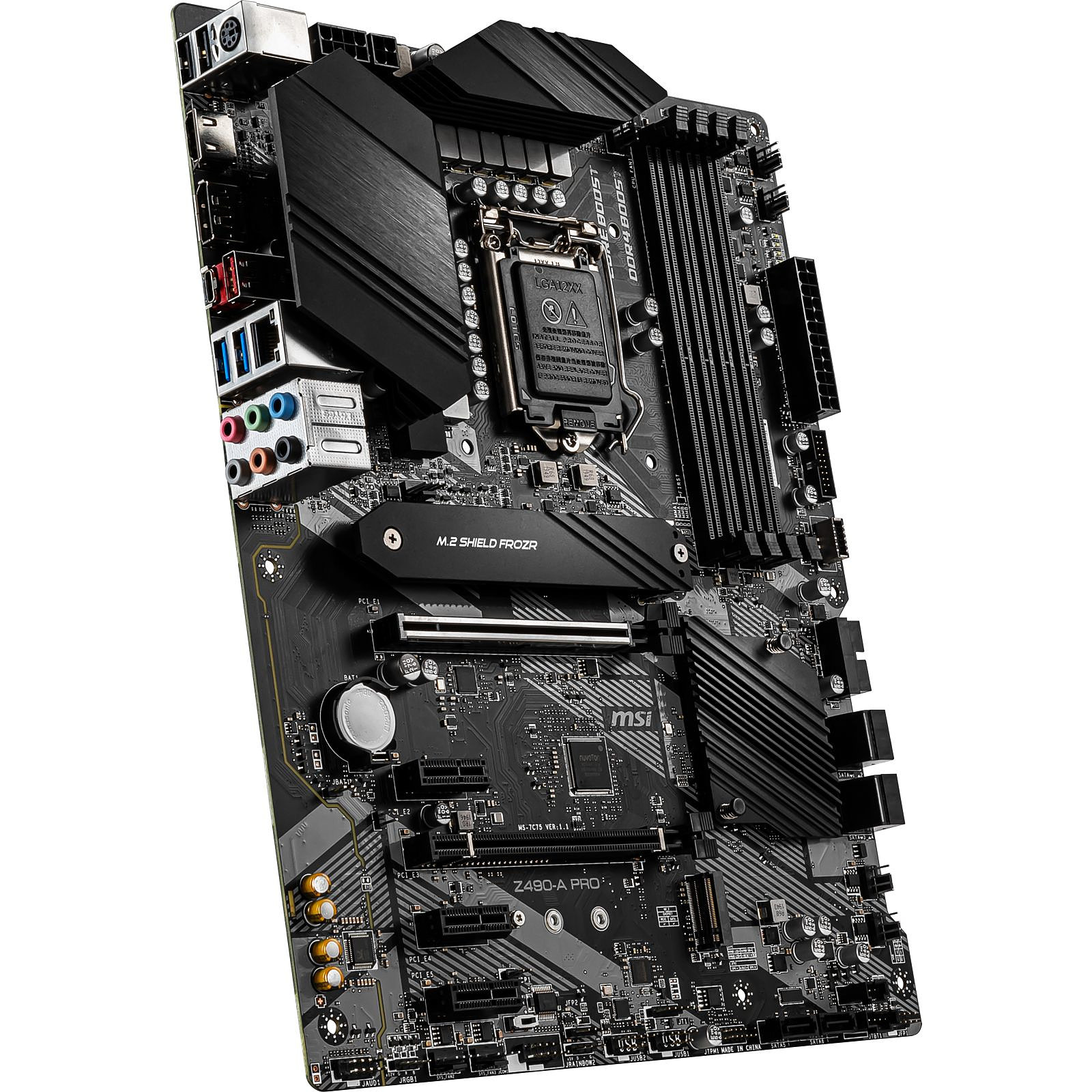 Carte mère MSI Z490-A PRO Socket 1200(Intel Z490 Express) ATX, informatique ile de la Réunion 974