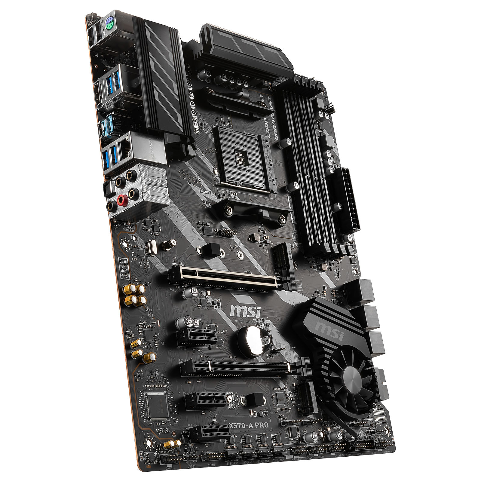 Carte mère MSI X570-A PRO Socket AM4 (AMD X570) ATX, informatique ile de la Réunion 974