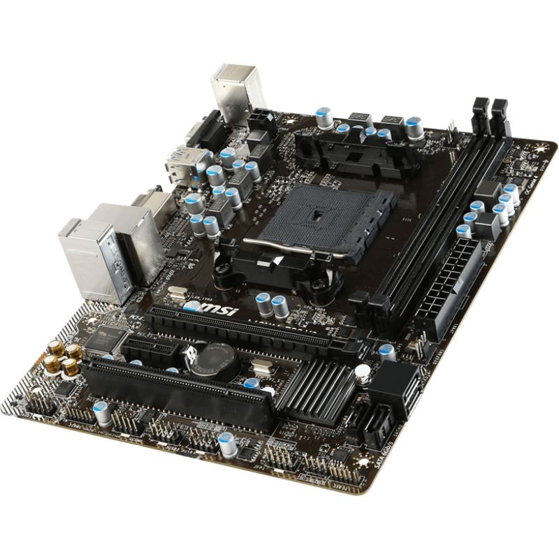 Carte mère MSI A68HM-P33 v2 Socket FM2+ (AMD A68H, Bolton-D2H) mATX, informatique ile de la Réunion 974