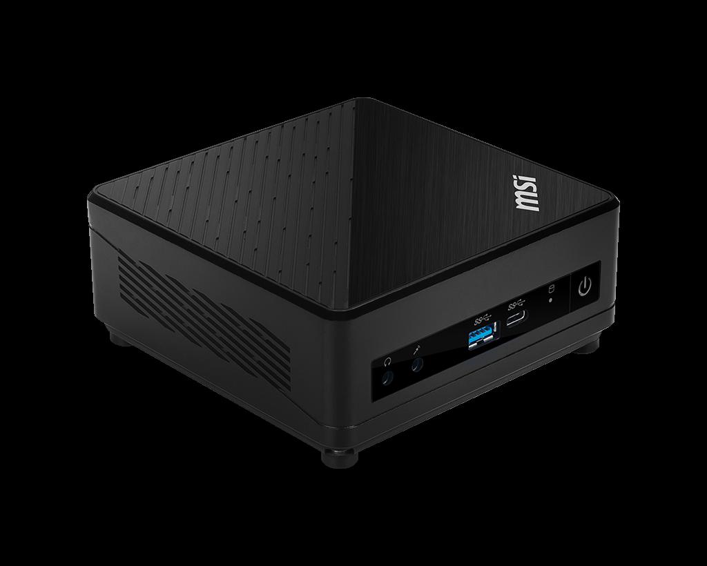 Mini ordinateur MSI Cubi 5 10M-009BEU , Intel Core i3 10110U, Wi-Fi AC, Bluetooth, emplacement DDR4 x2 et M.2 + 2.5 pouces, informatique ile de la Réunion 974