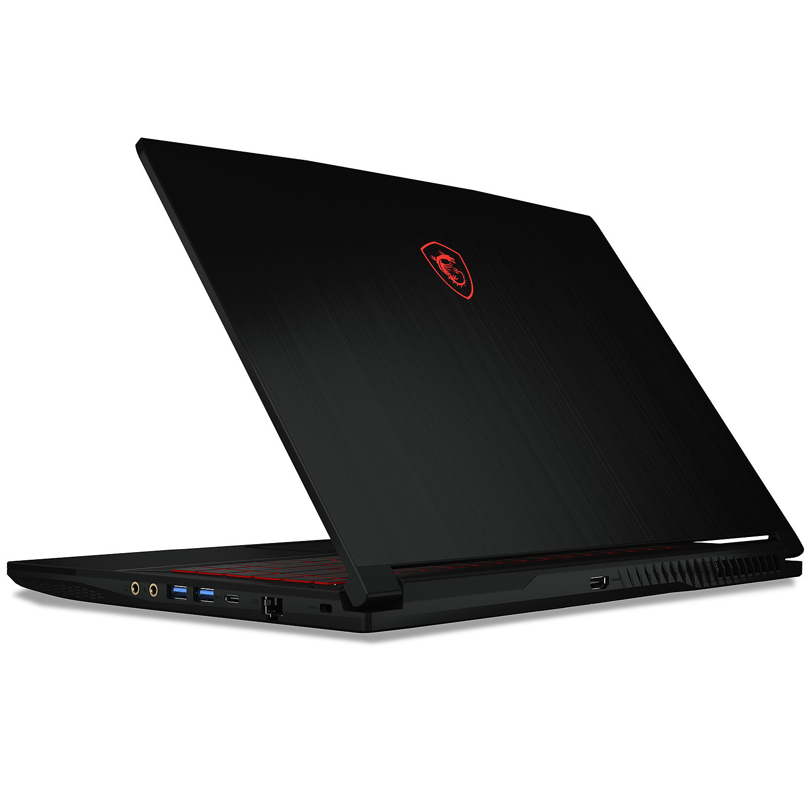 Ordinateur portable Gamer MSI GF63, Intel Core i7 Hexa Core, 16 Go DDR4, SSD 256 Go Nvme, 1 To HDD, GTX 1050Ti 4 Go, 15.6 pouces Full HD LED, W10 64bits, informatique Reunion 974, Futur Réunion informatique