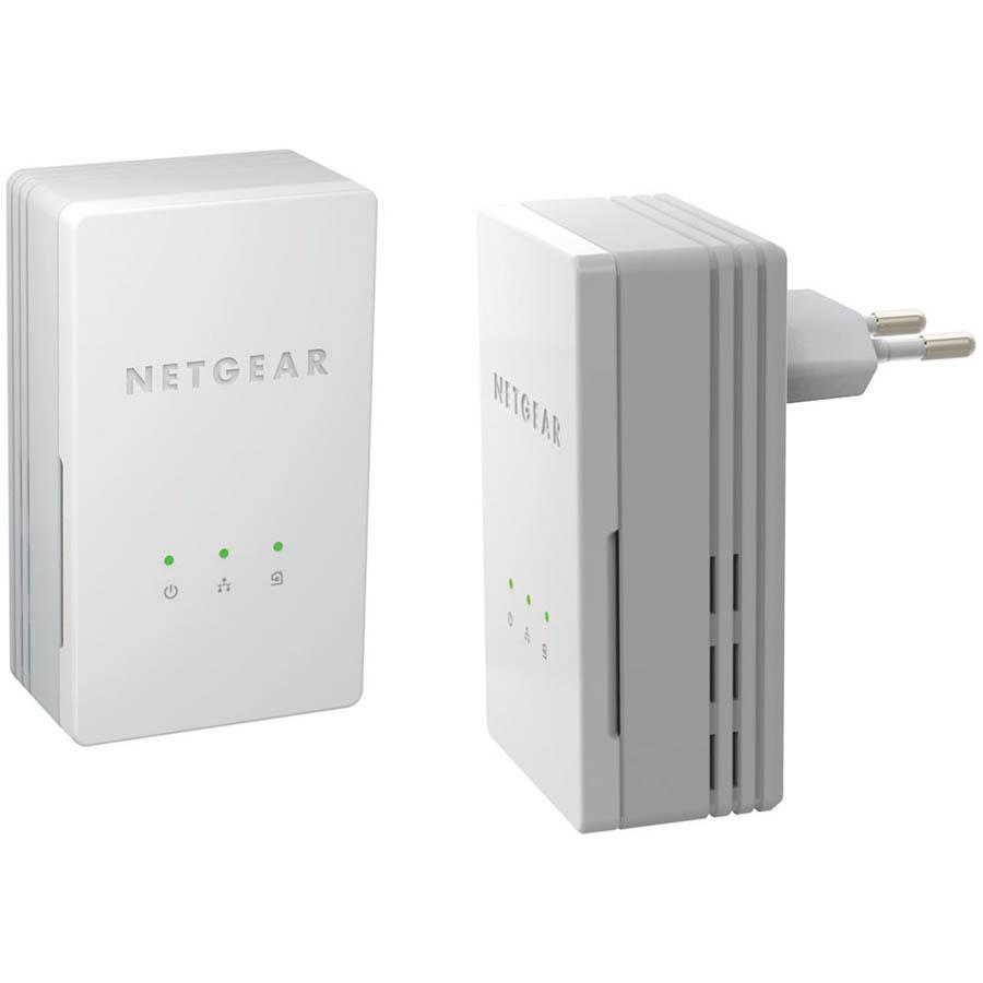 Adaptateurs CPL Netgear XAVB1301 Mini 200 Mbps - Pack de 2 adaptateurs CPL Ethernet 200 Mbits/s - Informatique Réunion 974