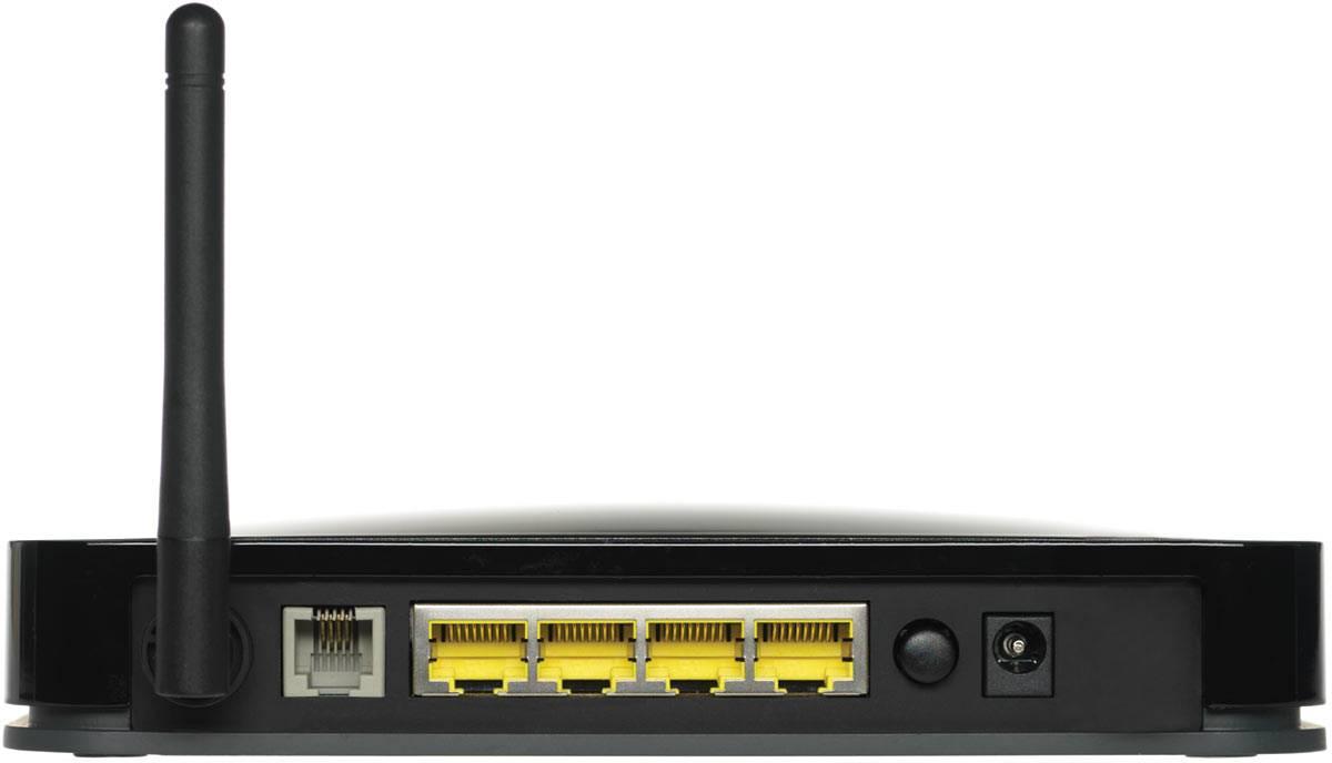 Modem routeur firewall Netgear DGN1000 ADSL 2+ sans fil - 150 Mbits/s