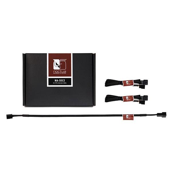 Kit de trois câbles-rallonges pour ventilateurs 3-broches, informatique ile de la Réunion 974