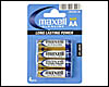 Piles Maxell : 4 piles Alcalines AA (LR6) 1.5v