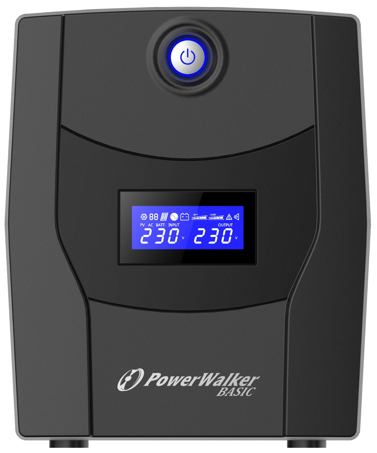 Onduleur régulateur de tension (AVR) PowerWalker Basic VI 1500VA / 900W, informatique ile de la Réunion 974