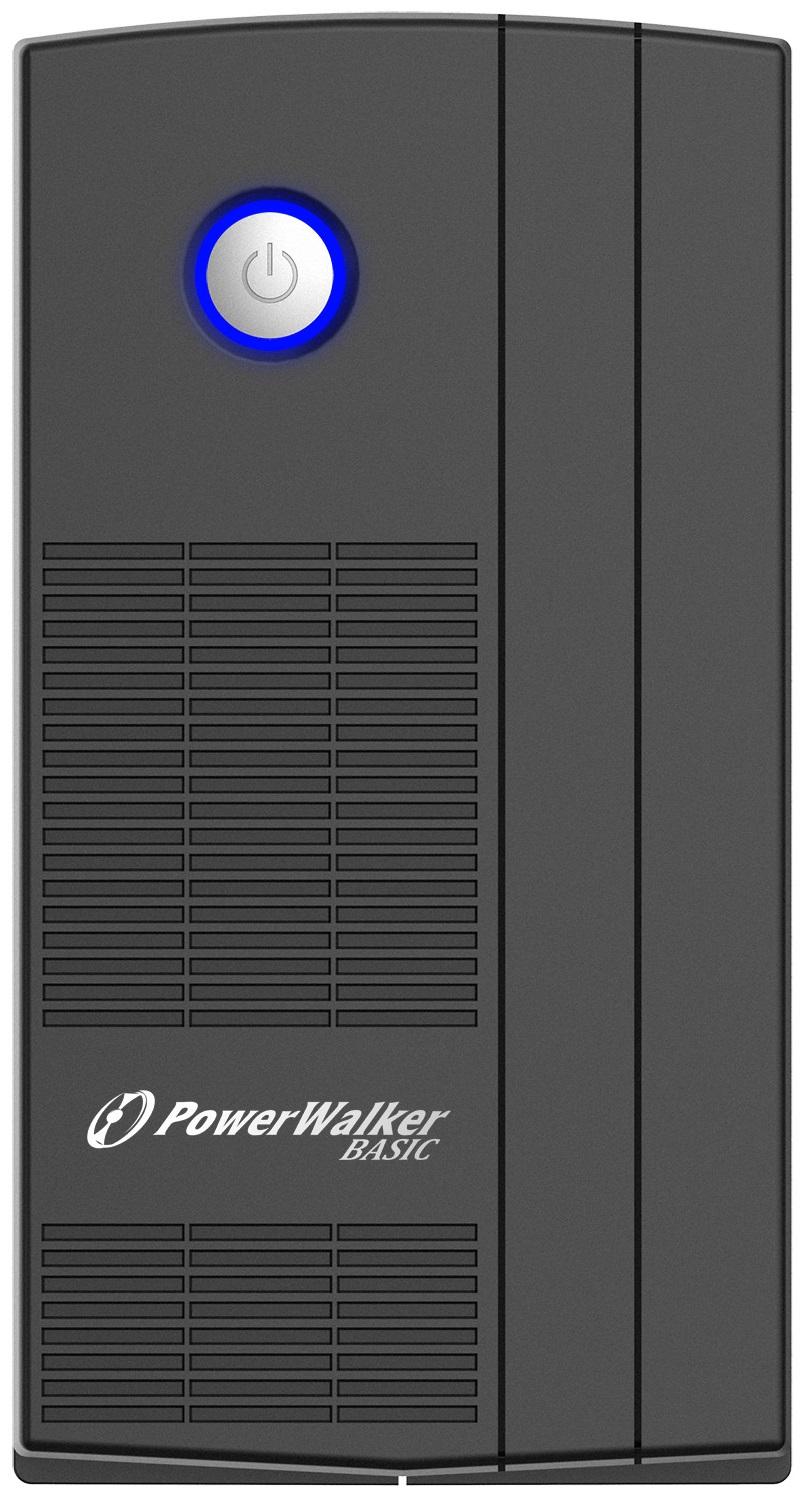 Onduleur régulateur de tension (AVR) PowerWalker Basic VI 850VA / 480W, informatique ile de la Réunion 974
