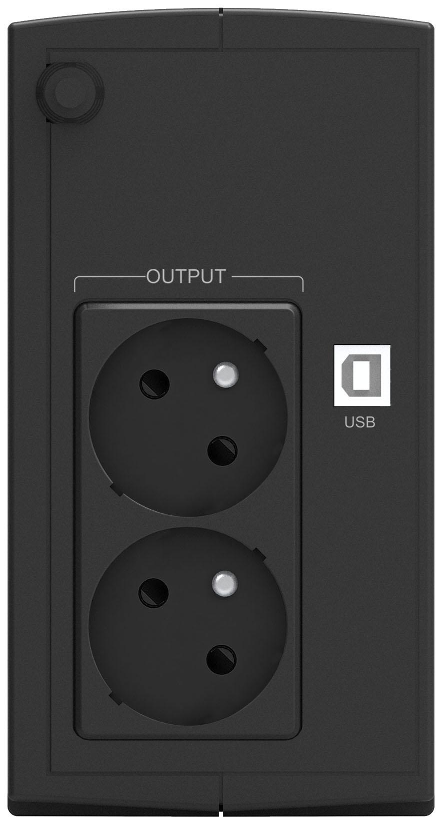Onduleur régulateur de tension (AVR) PowerWalker Basic VI 650VA / 360W , informatique ile de la Réunion 974