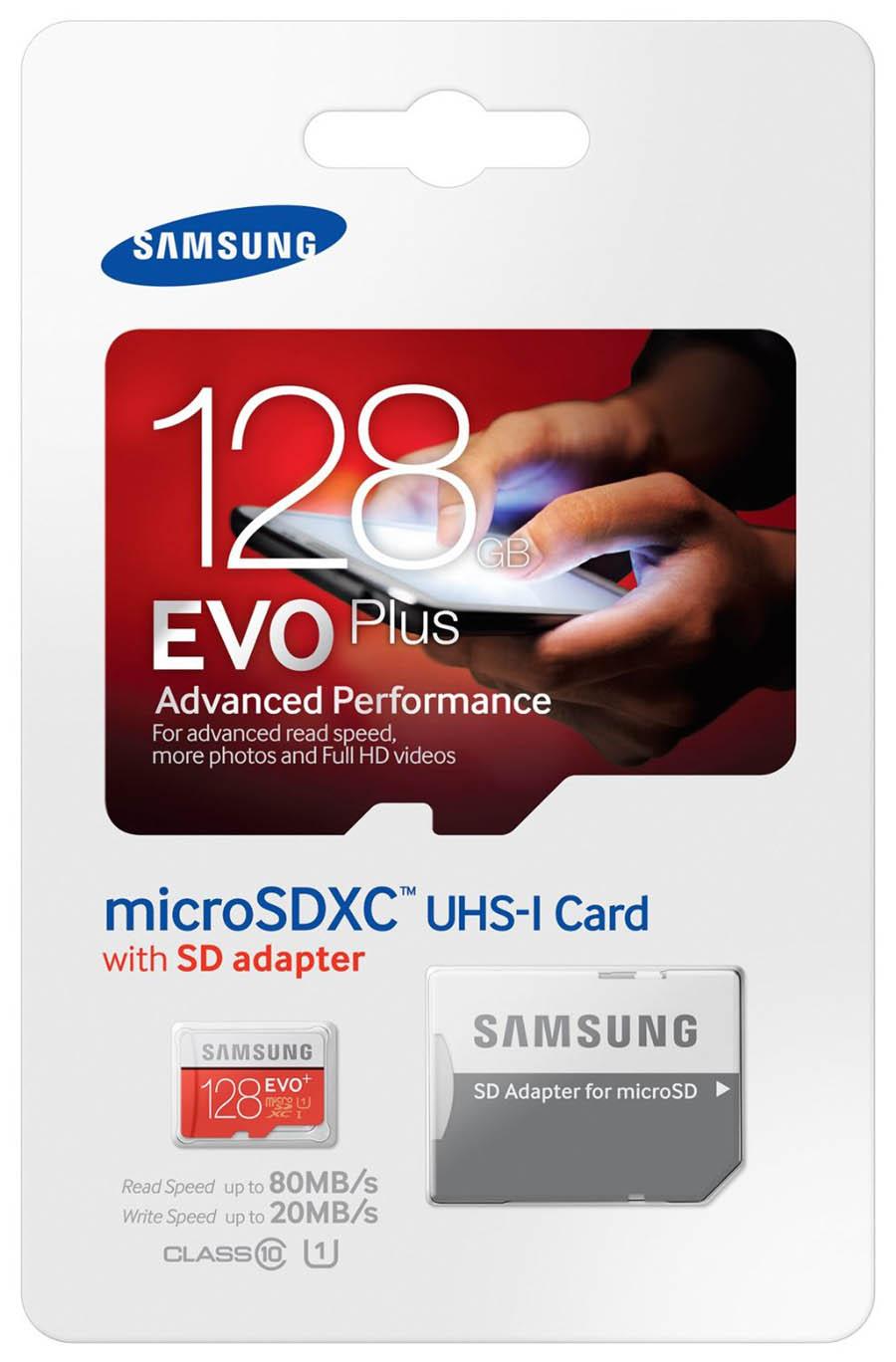 Carte mémoire Samsung micro SDXC 128 Go EVO PLUS + adaptateur SDXC, informatique ile de la réunion