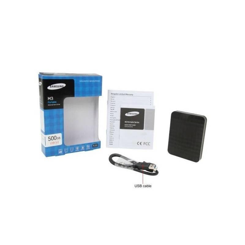 Disque dur externe 2.5 pouces Samsung M3 500 Go USB 3.0