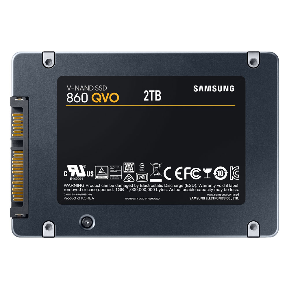 Disque dur SSD Samsung 860 QVO 2 To 2.5 (7mm) Serial ATA 3 (6Gb/s), informatique ile de la Réunion 974