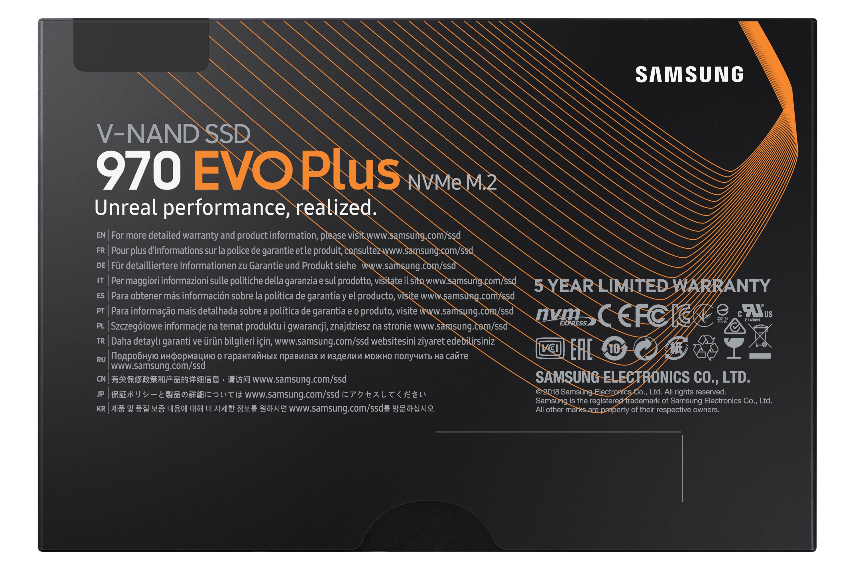 Disque dur SSD Samsung 970 EVO Plus M.2 PCIe NVMe 1 To , informatique ile de la Réunion 974
