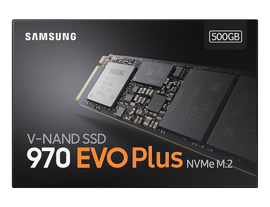 Disque dur SSD Samsung 970 EVO Plus 500 Go M.2 PCIe NVMe, informatique ile de la Réunion 974