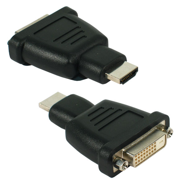 Adaptateur DVI mâle vers HDMI femelle, informatique ile de la  reunion 974